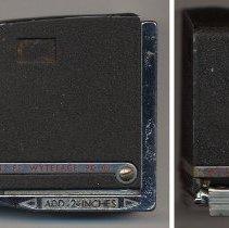 Image of Tape measure, Wyteface 90 0312, made by Keuffel & Esser Co., Hoboken or Morristown, N.J., ca. 1962-1964. - Measure, Tape
