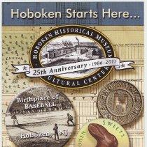 "Image of Brochure: ""Hoboken Starts Here..."" Promotion & calendar of major events, HHM, issued Jan. 2011. - Brochure"