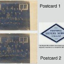 Image of postcard 1 (top); postcard 2