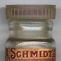 Image of Bottle, prescription: A. Schmidt's Pharmacy, Fourth St. & Willow Ave., Hoboken, N.J. Sept. 26, 195_. - Bottle, Apothecary