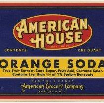 Image of label - Orange Soda