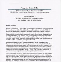 Image of Report 2 part 1 pg 2 Report Summary