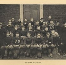 Image of detail photo Football Squad, 1918