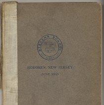 Image of Catalog / yearbook: Stevens School. June, 1921. 6th St. at Park Ave., Hoboken, N.J. - Catalog