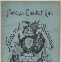 Image of Program: Hoboken Quartett Club. Karneval Sitzung. January 15, 1905. - Program, Concert