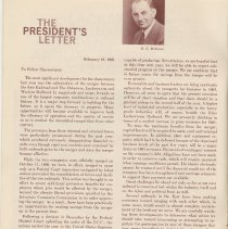 Image of pg 4: The President's Letter