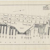 Image of Map: Hoboken port facilities, U.S. Army Corps of Engineers, June 1924. - Map