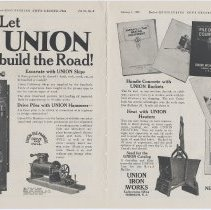 Image of ad: Union Iron Works