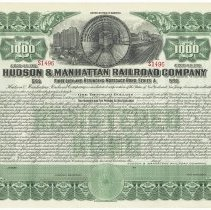 Image of Bond: H&M R.R., First Lien & Refunding Mortgage, $1000, 5%, Feb. 1, 1913. Unissued. - Bond