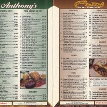 Image of pp 8-9, typical: Anthony's; Frankie & Johnnie's On the Waterfront