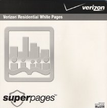Image of Telephone directory: Verizon, March 2011-2012. Residental white pages.