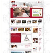 Image of TLC Cake Boss home page