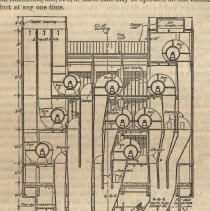 Image of 27 pg 603 detail: Fig. 4 Typical vertical section ... ventilating building