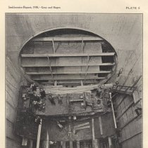 Image of Plate 6: Assembling Shield in Canal Street Shaft