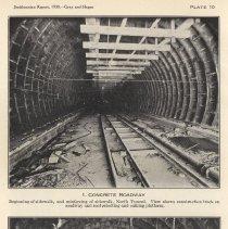 Image of Plate 10-1: Concrete Roadway; 10-2: Concrete Bulkhead and Locks