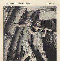 Image of Plate 12: Tightening Bolts in Tunnel Lining ... by ... Ratchet Wrench