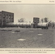 Image of Plate 24: Special Apparatus Erected at Hyde Park Plant, B.F. Sturtevant Co.