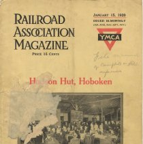Image of Articles re Hoboken YMCA Hudson Hut; Railroad Association Magazine, Volume VIII, No. 1, Jan. 15, 1920.  - Report