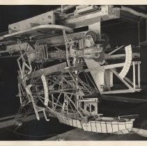 "Image of Photo 3: 8""x10"" SG print: view of hull test model G57 in water"