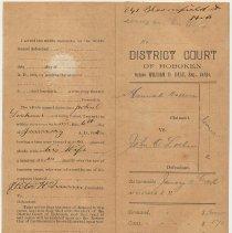 Image of side 2, file and affidavit of service