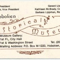 Image of card 2: The Hoboken Historical Museum
