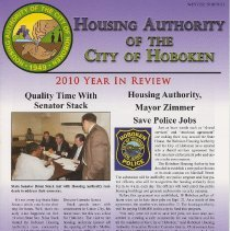 Image of Newsletter: Housing Authority of the City of Hoboken, Winter 2010/2011. - Newsletter