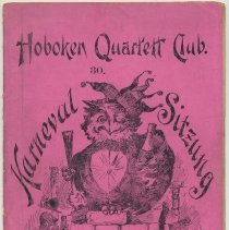 Image of Program: Hoboken Quartett Club 30. Karneval Sitzung. Feb. 26, 1911. - Program, Concert