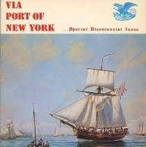 Image of Via Port of New York. Special Bicentennial Issue.  - Periodical