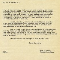Image of letter 1: July 22, 1947 pg 2 of 2