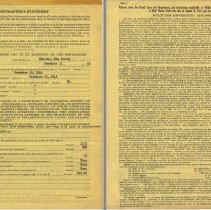 Image of Post Office application form pp 3 + 4, Hoboken, Dec. 10, 1946
