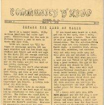 Image of vol. 3, no. 2, March 1, 1938, pg [1]