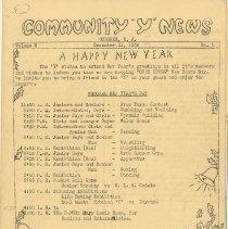 Image of vol. 2, no. 2, Dec. 31, 1936, pg [1]
