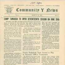 Image of Vol 1, No. 4 [second series], March 10, 1947, pg [1]