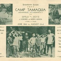 Image of Vol 1, No. 4 [second series], March 10, 1947, pg [2-3]; Camp Tamaqua