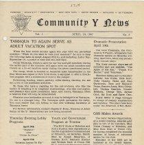 Image of Vol 1, No. 5 [second series], Apr. 10, 1947, pg [1]