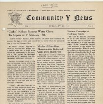 Image of Vol 1, No. 3 [second series], Feb. 10, 1947, pg [1]