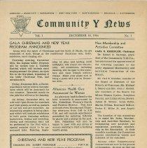 Image of Vol 1, No. 1 [second series], Dec. 10, 1946, pg [1]