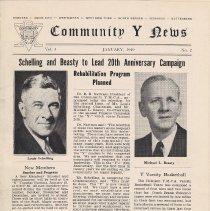 Image of Vol 3, No.2 [second series], Jan. 1949, pg [1]