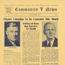 Image of Vol 6, No. 2 [second series], Nov. 1950, pg [1]