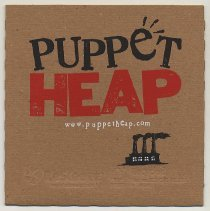 Image of disk 1: Puppet Heap Demo Reel; printed sleeve