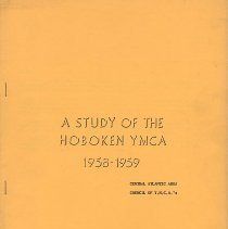 Image of Report: A Study of the Hoboken YMCA, 1958-1959.   - Report