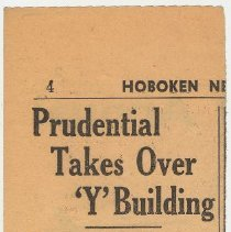 Image of 5: Prudential Takes Over 'Y' Building; ca. Aug. 5, 1941