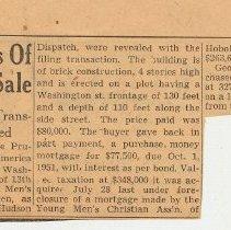 Image of 7: Reveal Details of Hoboken 'Y' Sale; Oct. 2, 1941