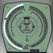 Image of Elemoto Dimension Adder, model 4008, sold by Keuffel & Esser Co., Hoboken. N.d., ca. 1954-1962. - Machine, Adding