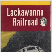 Image of Timetable: Lackawanna Railroad, The Route of Phoebe Snow. Time Tables. Oct. 28, 1956.  - Timetable
