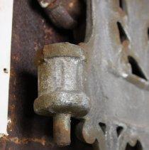 Image of detail pintle hinge