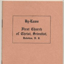 Image of front cover (rear cover blank)