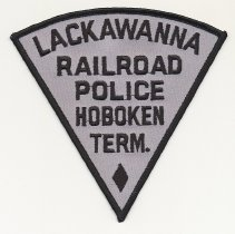 Image of Lackawanna Railroad Police Hoboken patch