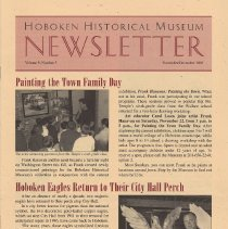 Image of Hoboken Historical Museum Newsletter [Second Series], Volume 9, Number 5, November - December 2003 - Periodical