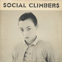 Image of album sleeve front Social Climbers (photo Jean Seton Shaw)